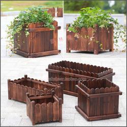 碳化木花箱