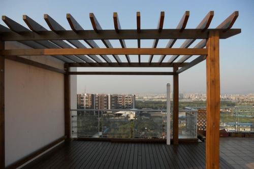 防腐木葡萄架结构